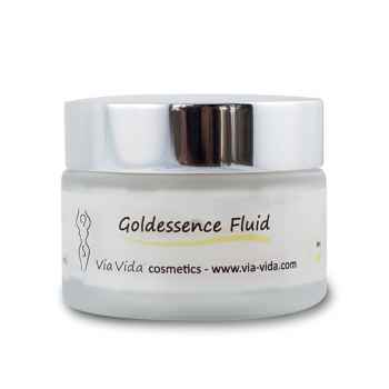 Goldessence Fluid von Via Vida cosmetics